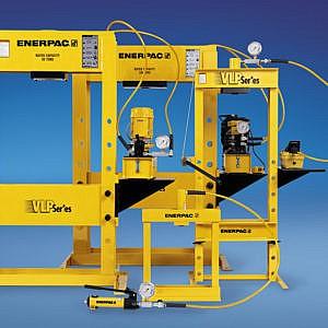 Werkplaats- en hydraulische persen